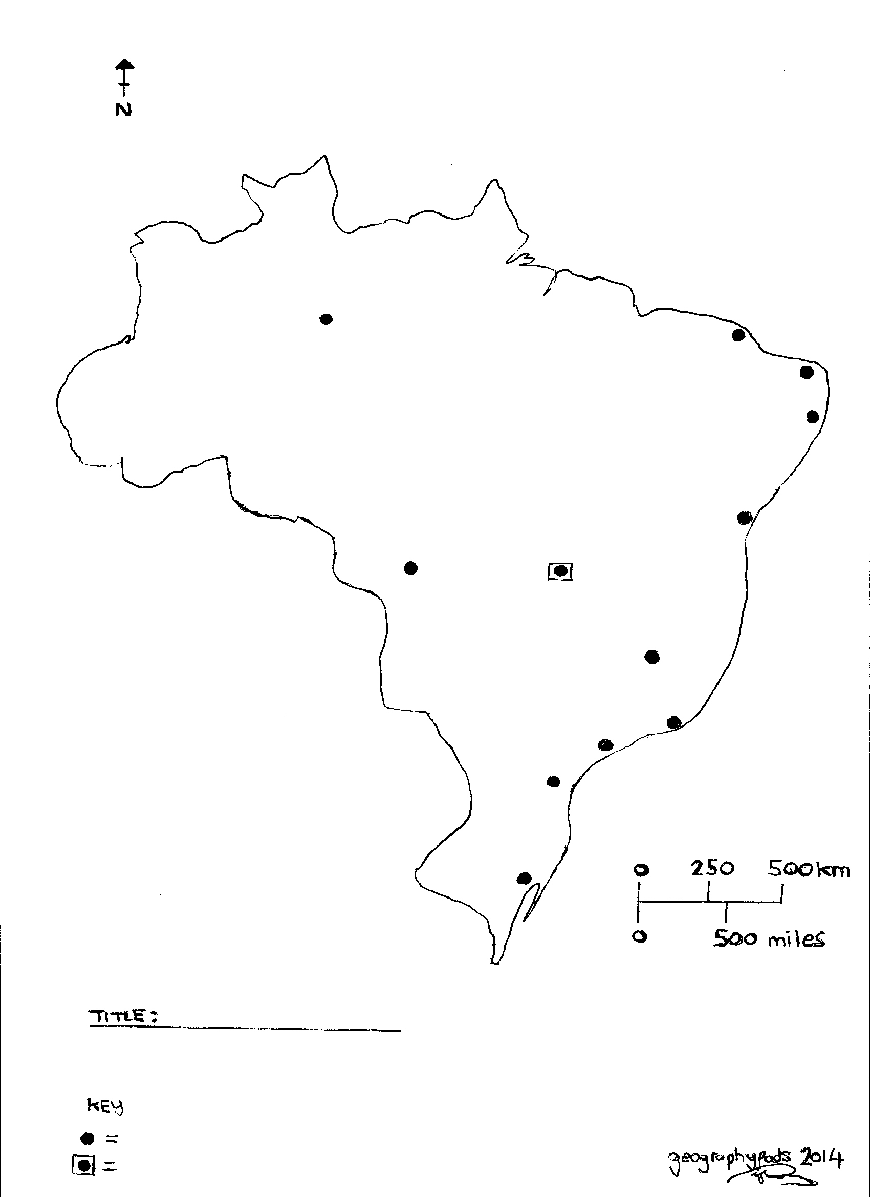 A big year for brazil geography for 2018 beyond map of brazil worksheet gumiabroncs Images
